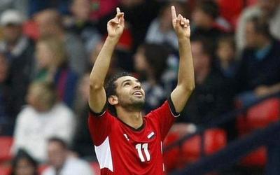 محمد صلاح يتعرض لاصابة في تدريبات منتخب مصر